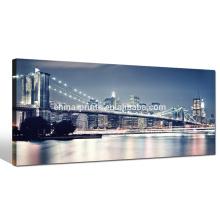 Large Size Brooklyn Bridge Canvas Print,new York Landmark Picture Print,Home Decor Canvas Painting