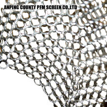 Silicone Insert Stainless Steel Chainmail Scrubberset