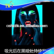 luminous pigment /glow /photoluminescent powder for Paints,cosmetic,nail polish etc