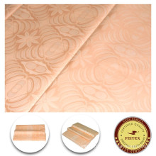 Nouveau Design Différents Types Tissu Multi Couleurs Shadda Guinée Brocade Coton Gros Bazin Riche Chinois Tissu Tissu FEITEX