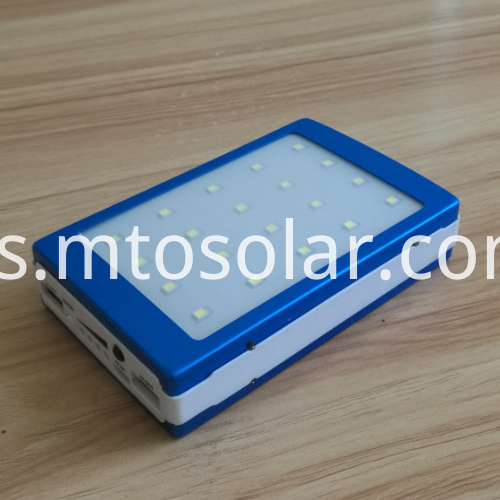 emergency light 20000mah power bank solar