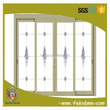 aluminium Standard cheap sliding doors and windows with HOPO hardware