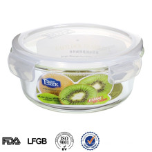 Wholesale glass bento boxes with lid 900ml