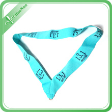 100% Eco-Friendly Polyester Material Double Face Customized Medal Ribbon