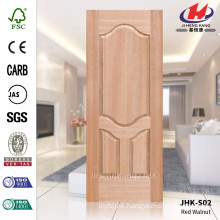 18MM Deep Groove Of Red Walnut Molded With High Quality Door Skin