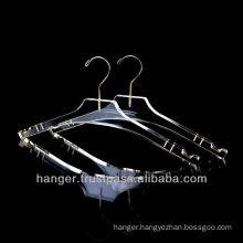 Luxury Transparent Acrylic Lingerie Hanger for Hotel Equipment