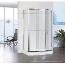 Boîte de douche coulissante à cadre en aluminium Hf-Qabf812