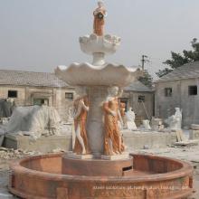 fonte de água de mármore quente da venda para a decoração do jardim