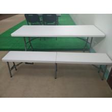 183cm Plastic Folding Bench Chair, Leisure Chair, Dining Chair, Garden Chair, Portable Chair, Outdoor Chair, Foldable Chair (HQ-XZD183)