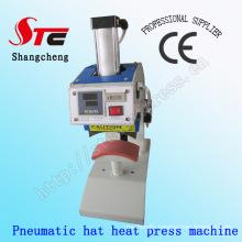 Pneumatic Hat Heat Printing Machine 8*15cm Automatic Hat Heat Press Machine Pneumatic Cap Heat Transfer Machine Digital Cap Heat Transfer Printing Machine