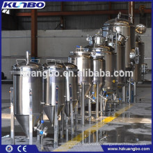 ISO and CE Certification approved stainless steel 304 or 316L conical beer fermenter
