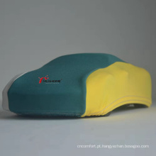Capa elástica multicolorida para carro interno capa macia e à prova de poeira