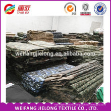 High Quality Stock TC Camouflage Fabric for Military Clothing /Uniform Polyester Cotton Fabric camouflage printed fabric