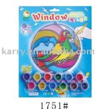 Suncatcher-Farbenspielzeug, Fensterfarben-Farbensatz