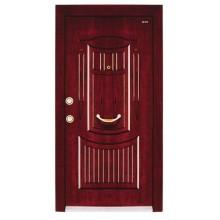 steel wood doors