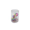 Caja de presentación de cilindro de PVC de plástico transparente personalizado