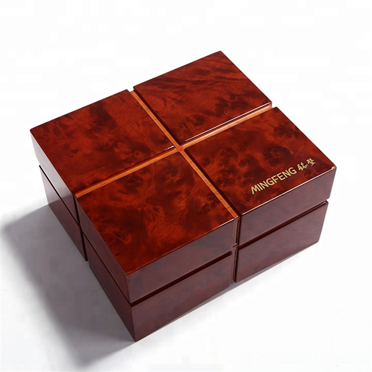 High Grade Piano Lacquered Wooden Watch Box Packaging