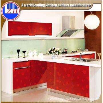 Gabinete de cocina de madera a prueba de agua (personalizado)