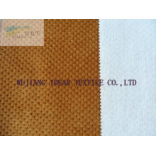 Polyester Knitted Bonded With poly cotton blende Woven Fabric
