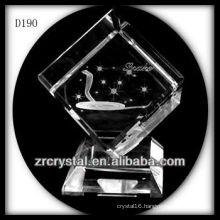K9 Animal Signs Laser Snake Inside Crystal