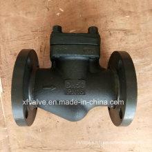 Clapet anti-retour en acier forgé standard DIN de bride d'extrémité de connexion de bride
