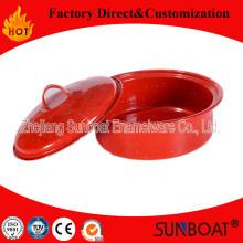 Sunboat 3qt Emaille Stock Pot Emaille Kochgeschirr / Geschirr / Kochgeschirr