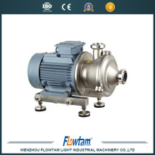 hot sale China supplier horizontal inline mixer ,high shear homogenizer milk pump