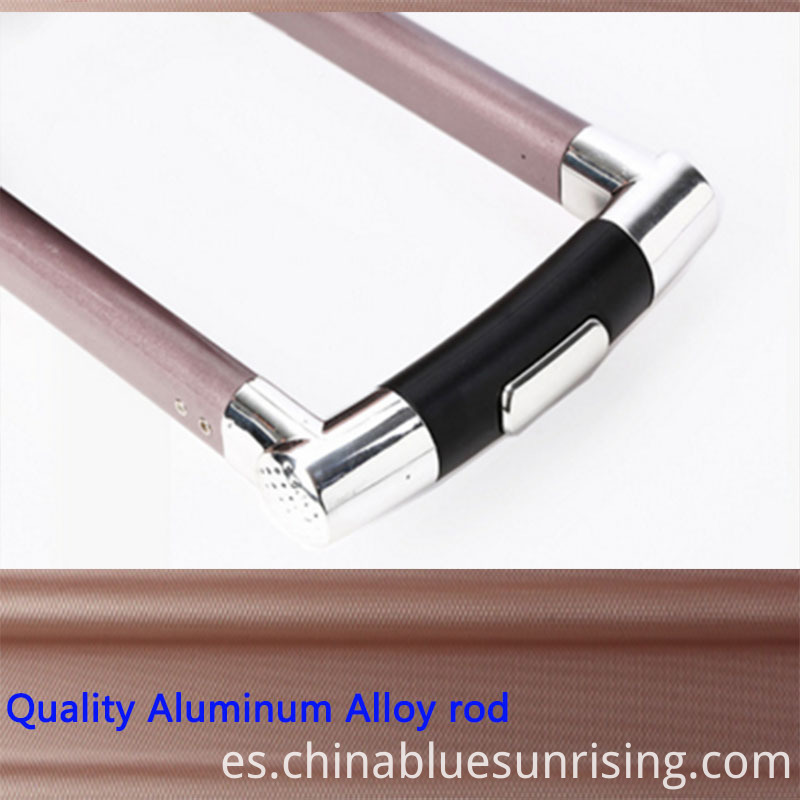 Alluminum alloy rod luggage