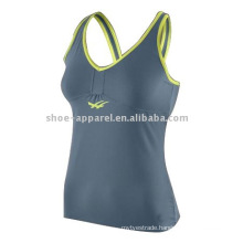 2014 Hot design ladies fitness spandex gym wear,fitness top