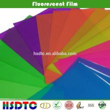 ПЭТ флуоресцентные пленки Transparet