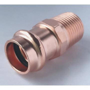 Presione el conector macho MX Press