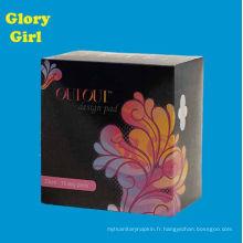 Meilleure vente jour et nuit usine de serviette hygiénique pour les femmes l'utilisation des femmes
