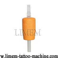 25mm weicher schwarzer Einweg-Tattoo-Griff mit klarer Spitze