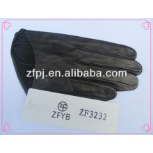2016 unique styles sex short driving leather gloves for ladies