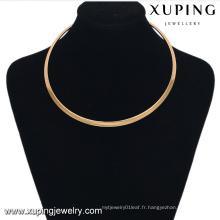 42997 collier de collier de bijoux en or chaud pour les femmes
