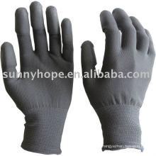 Polyurethan-Handflächen mit Handschuhen