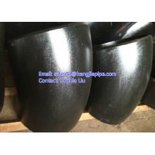 hot push seamless butt weld elbow 90deg 45deg