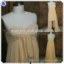 PP2705 Newest Sweetheart Front Short Back Long Evening Gowns 2014