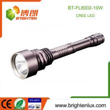 Haute sécurité de haute qualité à usage domestique Police Sécurité Usage Forte Lumière Aluminium Matal Puissant Rechargeable xml t6 led lanterne