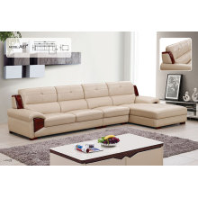 Latest Contemporary Synthetic Leather Sectional Sofa