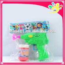 Reibung Blasengewehr Spielzeug, blinkende Blase Pistole für Kinder mit Blase Wasser