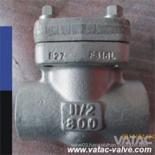 800lb Thread Ends Forged Steel Check Valve