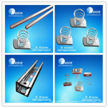 2015 Wiring Support Hot Dip Galvanized M8 Spring Nut Hot Sale