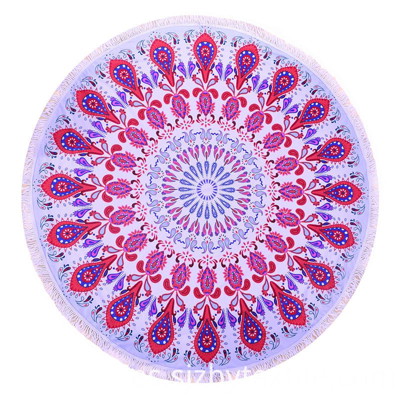 Luxury Round Beach Towel