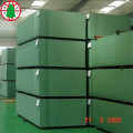 Waterproof MDF moisture proof green color MDF
