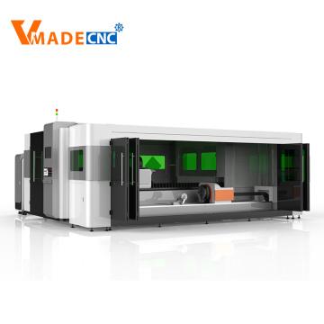 1530 aluminum 4000w 6000w fiber laser cutting machine