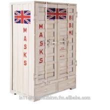 Icono de la bandera del Reino Unido Locker Vintage
