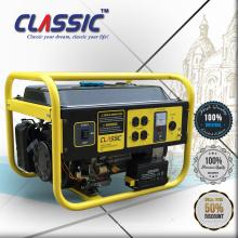 CLASSIC CHINA serie de generador de gasolina del circuito eléctrico, 220 voltios generador de gasolina 2.5kw