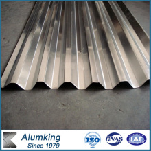 Silver 3003/3105 Corrugated Aluminum Sheet /Plate for Buildings