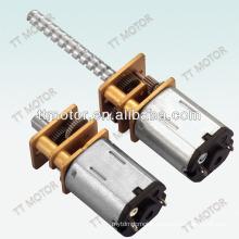 GM12-N20VA 12mm dc gear motor with screw thread shaft M3 M4